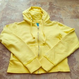 Roxy Zip Up Hoodie Jacket 💛